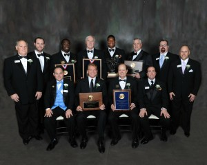 2013 Walter Camp Officers with Major Award Winners